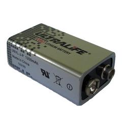 Ultralife 9V Block Lithium Batterie