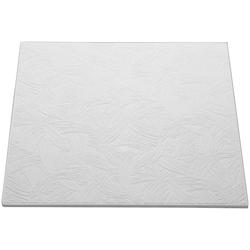 Decoflair Deckenplatten Deckenplatte T133, BxL: 50x50 cm, (Set, 16-tlg) in Putzoptik