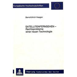 Satellitenfernsehen als Buch von Bernd-Ulrich Haagen