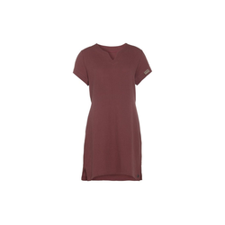 Knit Factory Midikleid Knit Factory, Kleid Indy rot L