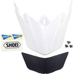 Shoei VFX-WR Helmschirm lackierbar - Weiß - one size