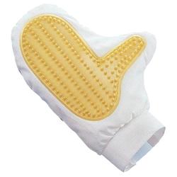 Nobby Pflegehandschuh Gummi- und Vliesseite für Hunde