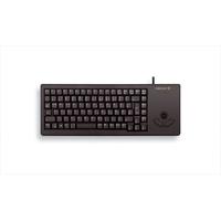 Cherry XS Trackball Keyboard US schwarz (G84-5400LUMEU-2)