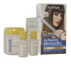 KATIVA ALISADO BRASILENO PRO DARK set 6 pz