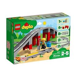 LEGO® Duplo 10872 Eisenbahnbrücke und Schienen Bausatz