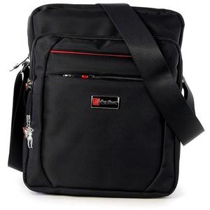 BAG STREET Umhängetasche OTJ254S Bag Street Damen Herren Umhängetasche (Umhängetasche), Herren, Damen, Jugend Tasche in schwarz, ca. 22cm Breite schwarz