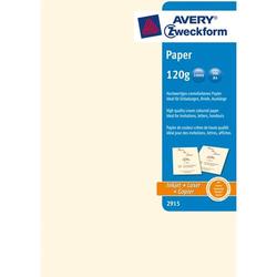Kopierpapier A4 unbeschichtet 120 g/qm 50 Blatt creme