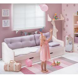 BioKinder - Das gesunde Kinderzimmer Funktionsbett Nico, 90x200 cm Schlafsofa