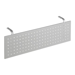 Sichtblende »New York« für 160er Tisch silber, Geramöbel