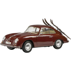 Schuco Porsche 356A Skiurlaub 1:18 Modellauto