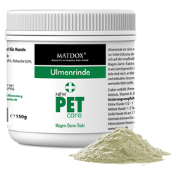 (12,39 EUR/100g) MATDOX New PET care Ulmenrinde 150 g