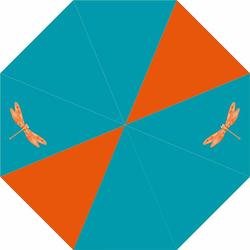 McNeill Zubehör Taschenschirm 24 cm orange