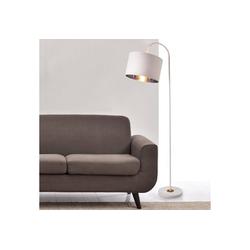lux.pro Stehlampe, Toledo Stehleuchte Design schwenkbare Lampe Metall weiß weiß