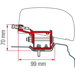Fiamma Kit F40 für Renault Trafic L2 ab 2014