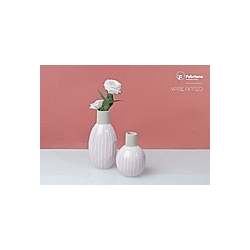 Fabriano Tischvase Anteo 17 cm rosa