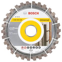 BOSCH Diamant-Trennscheibe Standard for Universal für Armierter Beton, Beton, Fliesen, Fliesenkleber, Marmor, Stahlblech
