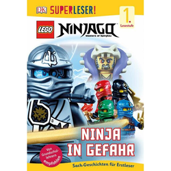 SUPERLESER! LEGO® NINJAGO®. Ninja in Gefahr