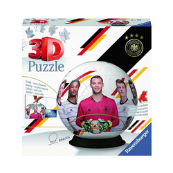 Ravensburger 3D-Puzzle Puzzle-Ball Die Mannschaft EM2020, 72 Teile, Puzzleteile