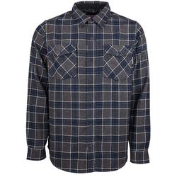 Hemd INDEPENDENT - Hatchet Button Up L/S Shirt Navy Plaid (NAVY PLAID) Größe: L