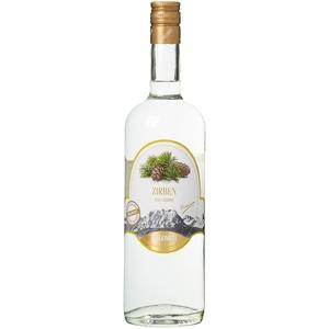 DOLOMITI Zirben-Schnaps Premium Spirituose 40% vol.   Original Zirbenschnaps   1 x 1 Liter