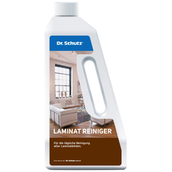 Bodenmeister Fussbodenreiniger Dr. Schutz Laminatreiniger weiß Reinigungsmittel Reinigungsgeräte Küche Ordnung