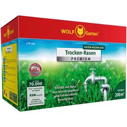 WOLF-Garten Rasensamen L-TP 200 Trockenrasen, 6,0 kg