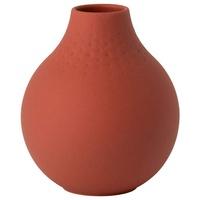 Villeroy & Boch Vase Perle klein Manufacture Collier Terre rot 11,00 cm