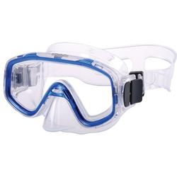 AQUAZON Taucherbrille AQUAZON FUN Junior Kids Schnorchelbrille, Taucherbrille, Schwimmbrille, Tauchmaske für Kinder, von 3-7 Jahren, sehr robust, tolle Paßform blau