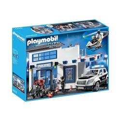 Playmobil® Spielfigur PLAYMOBIL® 9372 Polizeistation