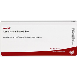 LENS CRISTALLINA GL D 6 Ampullen 10 ml