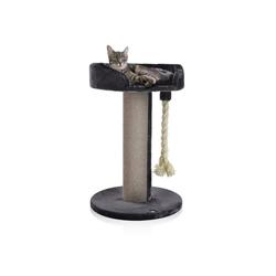 Canadian Cat Company Kratzbaum Ontario 1 - grau, Kratzbaum mit 20 cm Ø Sisalstamm