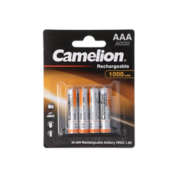 Camelion Camelion AAA, Micro, LR03, HR04, NiMH Akku mit bis Akku