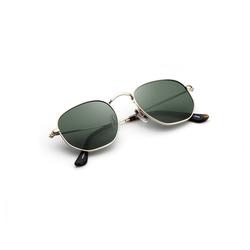 Teletrogy Pilotenbrille Polarisiert Pilotenbrille Sonnenbrille Herren, Fliegerbrille