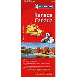 Michelin Karte Kanada; Canada - Buch