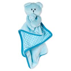 Karlie Welpenspielzeug Decke Bär blau