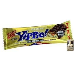 Weider Yippie Riegel 12x70g (Geschmack: Erdnuss-Karamell)