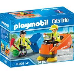 PLAYMOBIL® City Life Kehrmaschine 70203