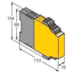 Turck Temperatur-Messverstärker IM34-12EX-CRI