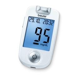 Beurer GL 40 Set mg / dl Blutzuckermessgerät
