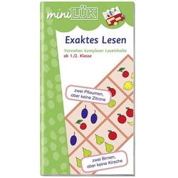 LÜK miniExaktes Lesen 131