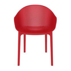 CLP Gartenstuhl Sky stapelbar und mit modernem Design rot