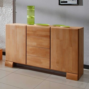 Esszimmer Sideboard aus Buche Massivholz 120 cm breit
