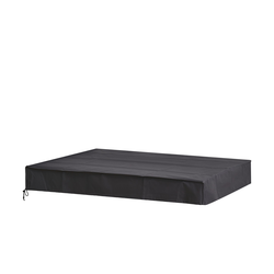 Schutzhülle  Tisch ¦ grau ¦ Maße (cm): B: 165 H: 15 T: 95