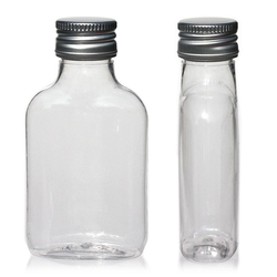 100ml PET-Taschenflasche mit PP28
