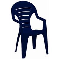 JARDIN Bonaire Stapelsessel 57 x 55,5 x 92 cm blau