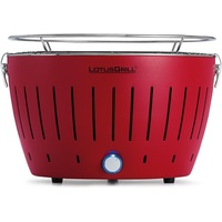 Lotusgrill Holzkohlegrill S feuerrot inkl. USB Anschluss