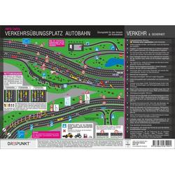 Verkehrsübungsplatz Autobahn Info-Tafel