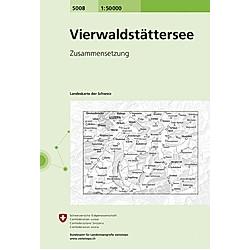 Landeskarte der Schweiz Vierwaldstättersee - Buch