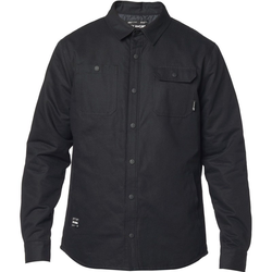 Hemd FOX - Montgomery Lined Work Shirt Black (001)