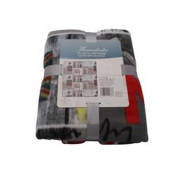Fleece Decke im amerikanischen New York Stil 130 x 160 cm